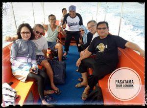 Boat trip Lombok vacation to Gili Trawangan