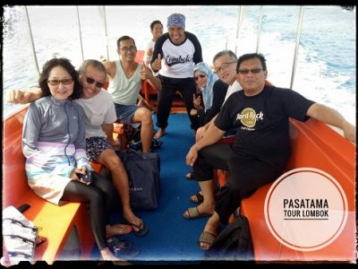 Boat trip Lombok vacation to Gili Trawangan