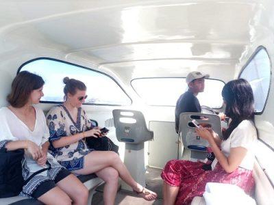 Boat trip to Gili Trawangan