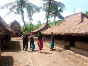 Holiday in Lombok Sasak village