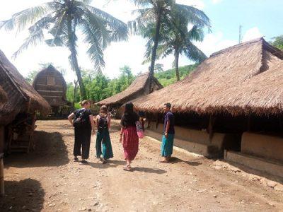 Holiday in Lombok Sasak village