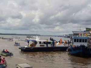 Kumai harbor Borneo