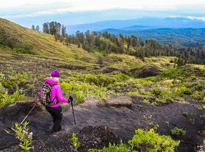 Mount Tambora trekking
