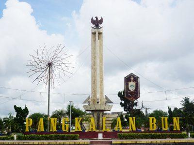 Pangkalan Bun Airport Borneo Island