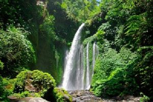 Sendang Gila waterfall Lombok round trip