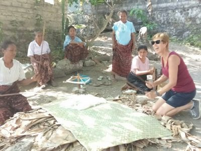 Sika ikat weaving Flores adventure tour