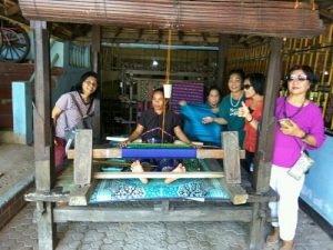 Sukarara weaving village Lombok