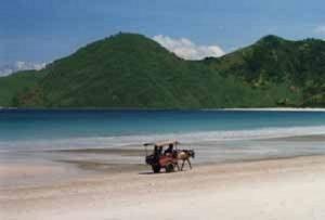 Tanjung Ann Beach Lombok Vacation
