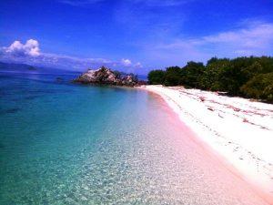 komodo travel to pink beach